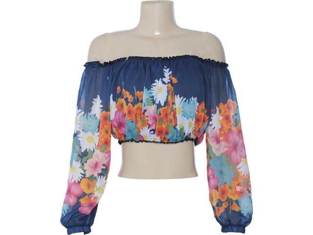 Blusa Feminina Dopping 015602513 Estampada