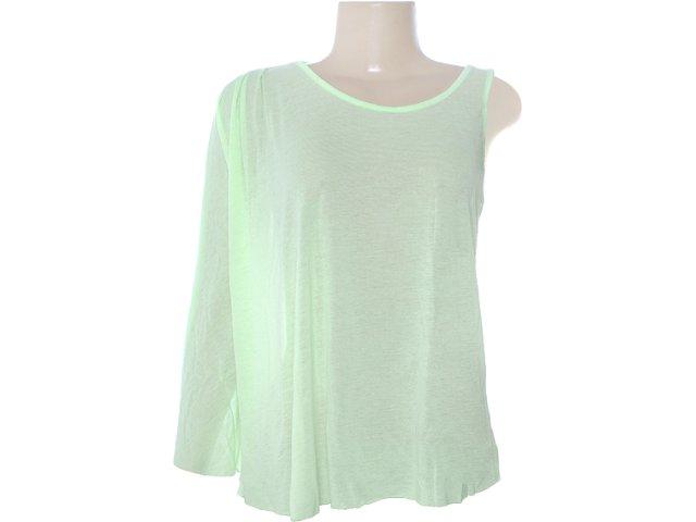 Blusa Feminina Coca-cola Clothing 363202484 Verde Claro
