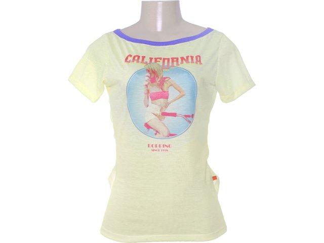 Blusa Feminina Dopping 015652535 Amarelo