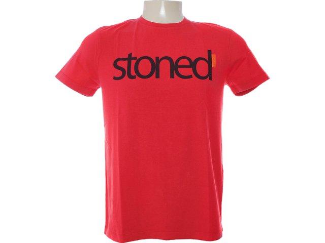 Camiseta Masculina Dopping 015262556 Vermelho
