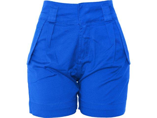 Bermuda Feminina Dopping 013132501 Azul Bic