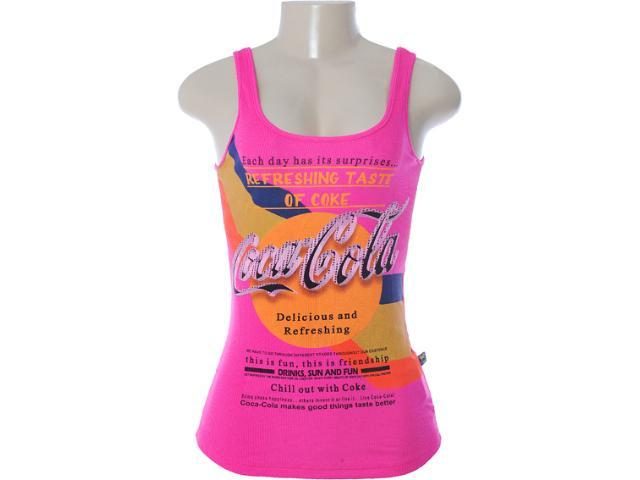 Regata Feminina Coca-cola Clothing 383200405 Pink