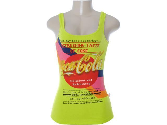 Regata Feminina Coca-cola Clothing 383200405 Verde Limão
