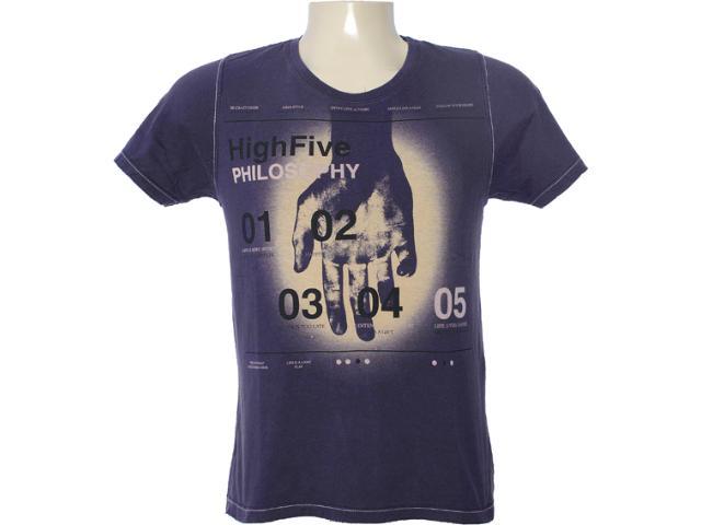 Camiseta Masculina Dzarm 6bv6 Xke10 Roxo