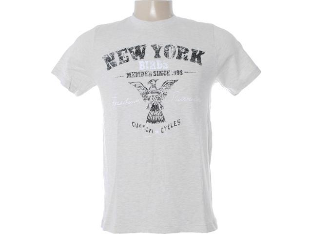 Camiseta Masculina Dzarm 6bvk Md210 Bege