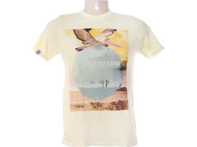 Camiseta Masculina Dzarm 6bv8 Ytg10 Amarelo