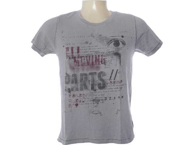 Camiseta Masculina Dzarm 6bv6 Xjw10 Cinza