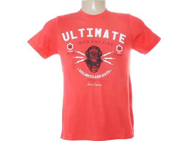 Camiseta Masculina Dzarm 6bvk Ryk10 Salmão
