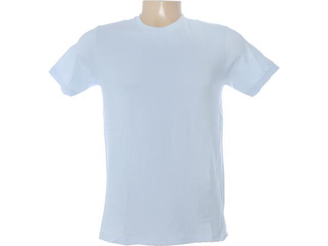 Camiseta Masculina Dzarm 6blp At810 Azul Calro
