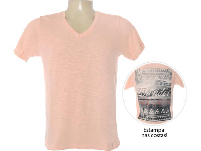 Camiseta Masculina Dzarm 6bvt Lkv10 Salmão