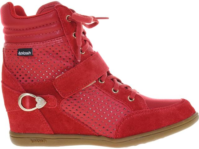 Sneaker Feminino Kolosh C0092 Vermelho