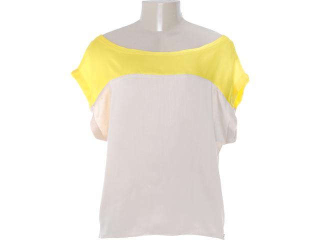 Blusa Feminina Coca-cola Clothing 343200575 Bege/amarelo