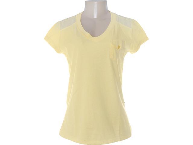 Camiseta Feminina Dopping 015252503 Amarelo