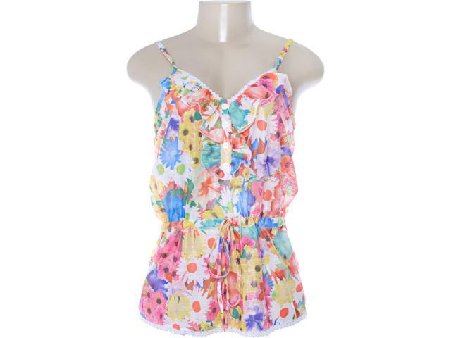 Blusa Feminina Dopping 015652571 Floral