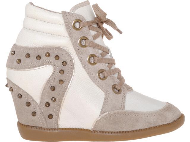 Sneaker Feminino Bottero 175404 Nude/off White