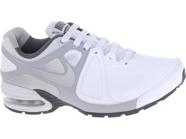 Tênis Feminino Nike 512594-101 w Air Max Pursuit si sl br Branco/prata