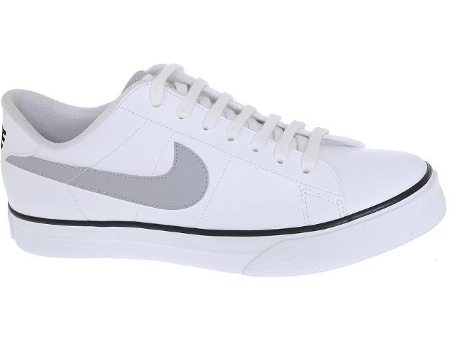 Tênis Masculino Nike 387303-114 Sweet Classic Low Branco/cinza