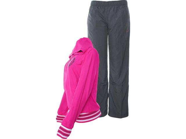 Abrigo Feminino Nike 481152-697 Pink/chumbo