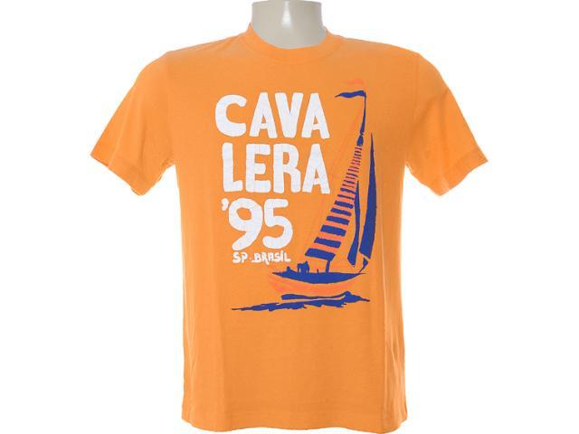 Camiseta Masculina Cavalera Clothing 01.01.6225 Laranja