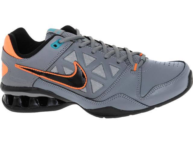 Tênis Masculino Nike 502828-005 Reax 6 tr br Emb Chumbo/laranja