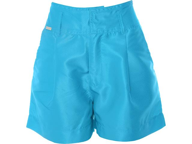 Bermuda Feminina Dopping 013132511 Azul Mar