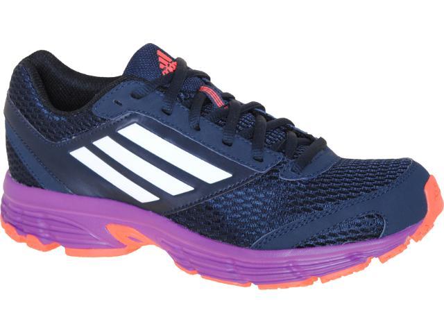 Tênis Feminino Adidas G61184 Furano 4w Marinho/roxo/laranja