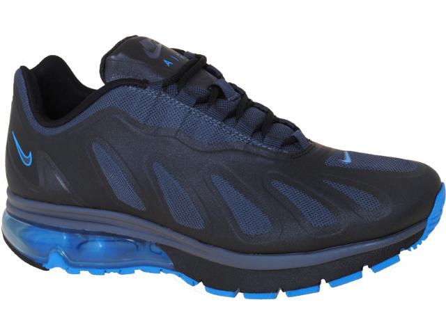 Tênis Masculino Nike 525223-014 Air Max 96+ Evolve Preto/azul