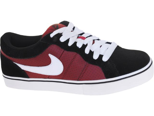 Tênis Masculino Nike 487936-610 Isolate lr Preto/bordo