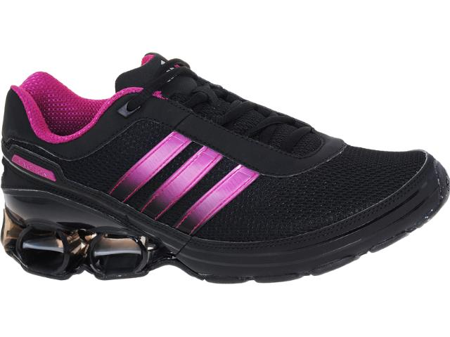 Tênis Feminino Adidas V21711 Devotion pb Preto/violeta