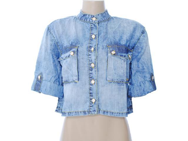 Camisa Feminina Dopping 011912501 Jeans