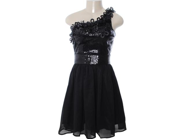 Vestido Feminino Dopping 018002543 Preto