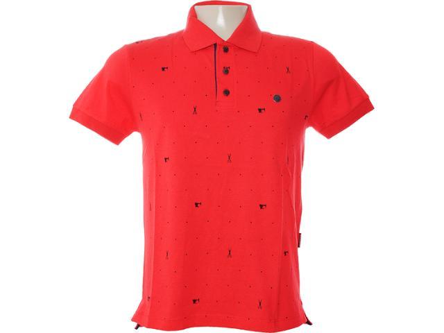 Camisa Masculina Dopping 015462518 Vermelho