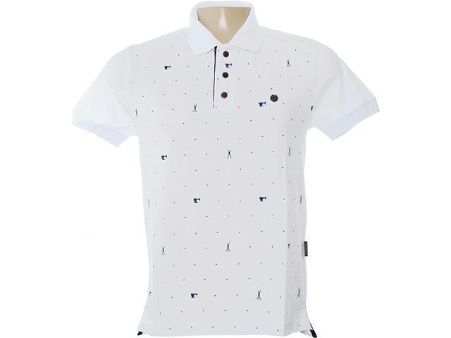 Camisa Masculina Dopping 015462518 Branco
