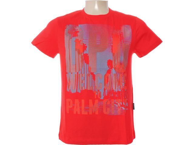 Camiseta Masculina Dopping 015262502 Vermelho