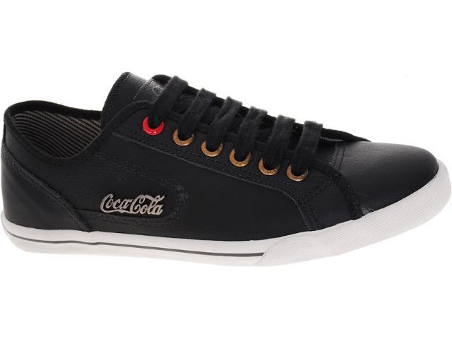 Tênis Masculino Coca-cola Shoes Cc0203 Preto