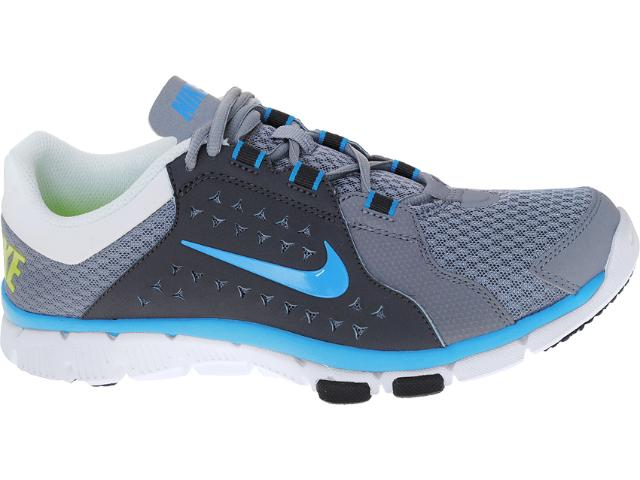 Tênis Masculino Nike 525730-005 Flex Supreme tr Cinza/chumbo/azul/branco