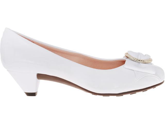 Sapato Feminino Moleca 5139509 Branco