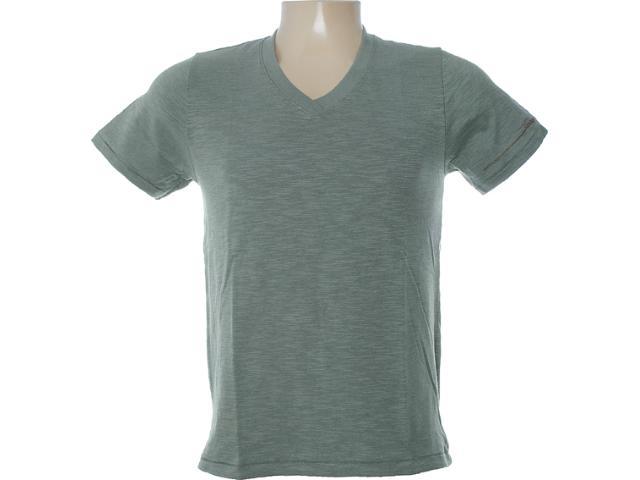 Camiseta Masculina Dzarm 6bql E9910 Verde