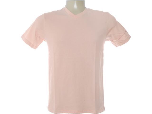 Camiseta Masculina Dzarm 6blm Lkv10 Salmão