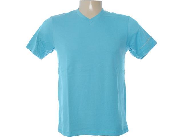 Camiseta Masculina Dzarm 6blm Au210 Oceano
