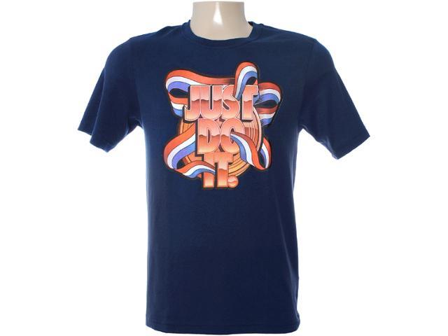 Camiseta Masculina Nike 481599-405 Marinho