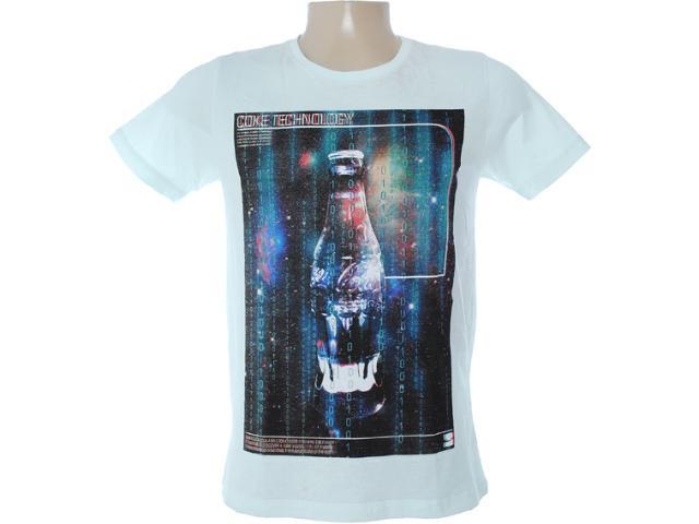 Camiseta Masculina Coca-cola Clothing 353203154 Verde Claro