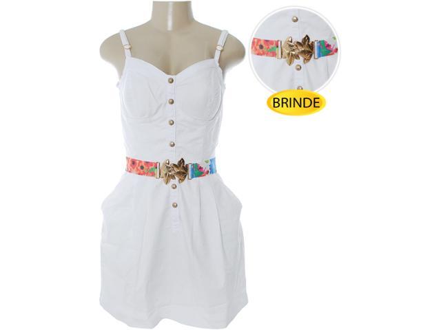 Vestido Feminino Dopping 018032503 Branco