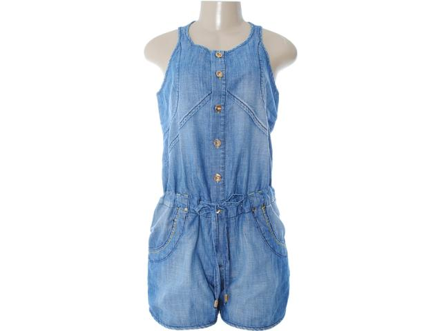Macaquinho Feminino Dopping 019012507 Jeans