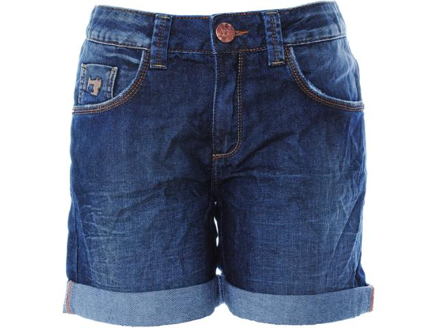 Bermuda Feminina Dopping 013812501 Jeans