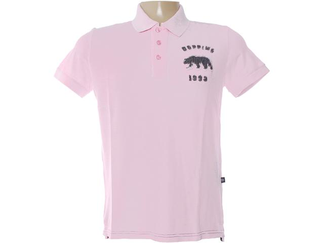Camisa Masculina Dopping 015462502 Rosa Claro