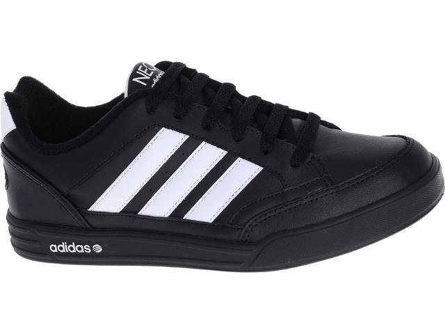 Tênis Masculino Adidas G52312 Coneo Stripe  Preto/branco