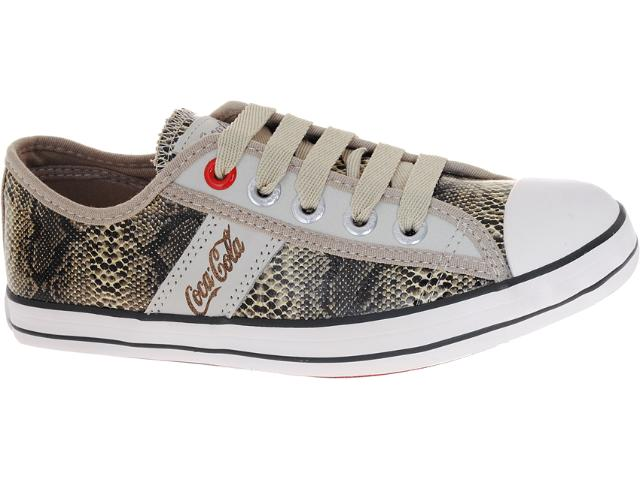 Tênis Feminino Coca-cola Shoes Cc0144 Cobra