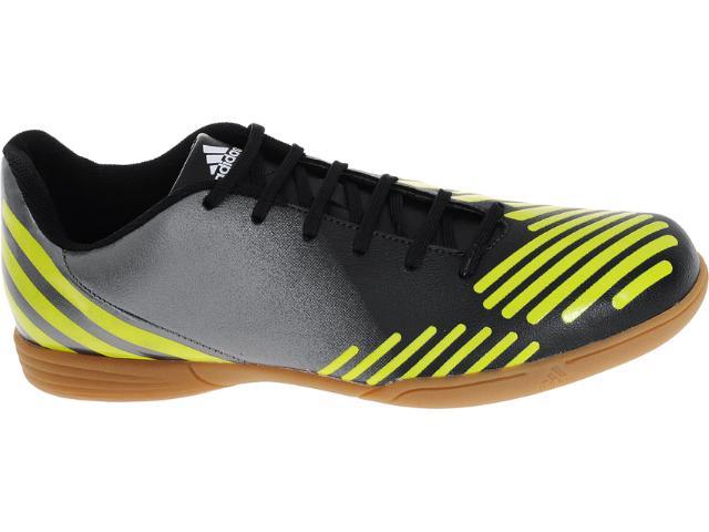 Tênis Masculino Adidas V22122 Predito lz in Grafite/preto/amarelo