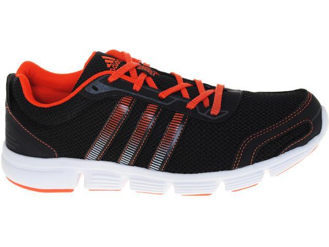 Tênis Masculino Adidas V23367 Breeze m Preto/laranja